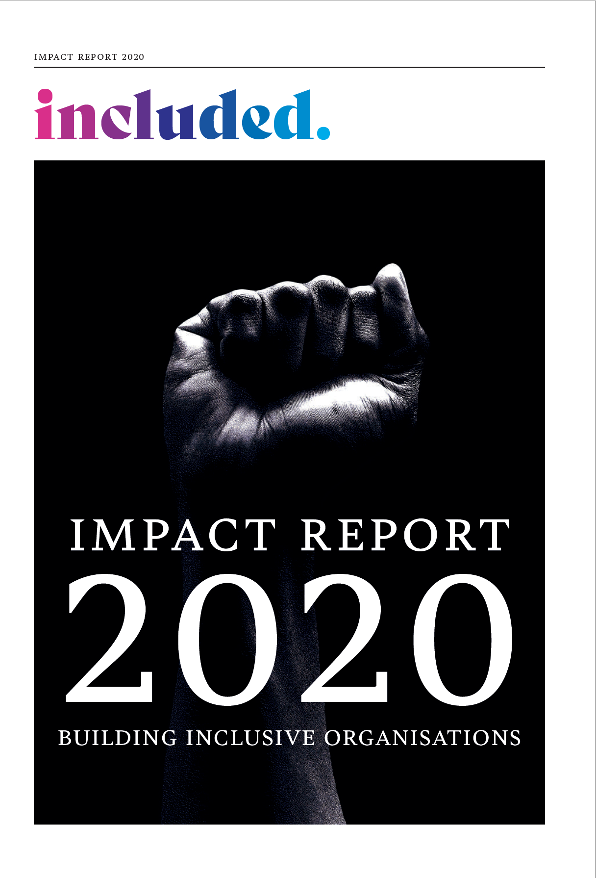 Impact Report 2020 Cover