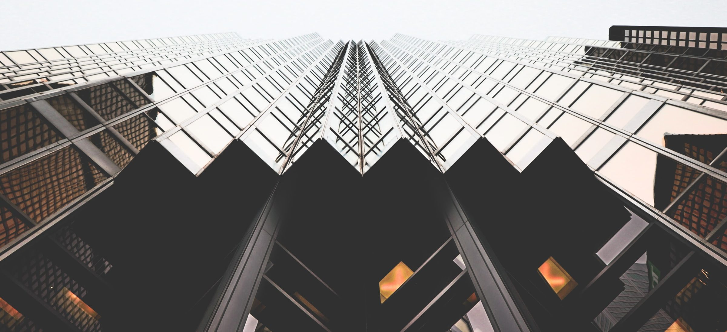 Looking up at the RBC Building